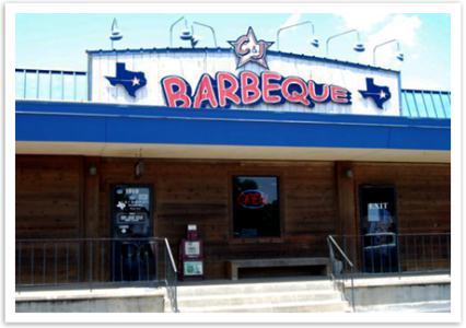 C&J BBQ's Bryan location.