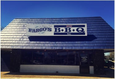 The new location of Fargo's Pit BBQ.