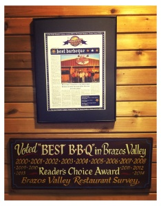 C&J BBQ has accumulated more than its share of accolades.