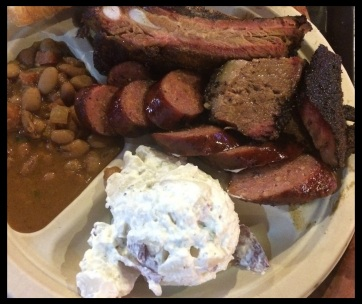 A perfect plate at Stiles Switch BBQ & Brew!