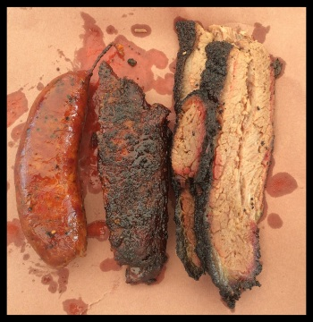 Amazing appearance is only equaled by the amazing taste of the meats at La Barbecue.