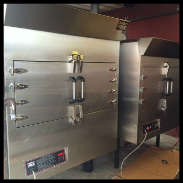 Vitek's BBQ uses Southern Pride gas/wood smokers to prepare their smoked meats.