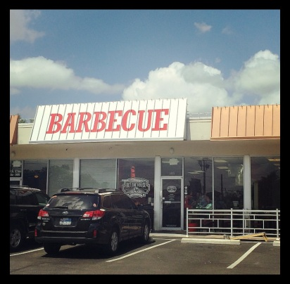 Bet the House BBQ is nestled in a small strip center just south of downtown Denton on Elm St.