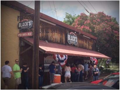 Black's Barbecue is located at 215 Main St. in Lockhart, Texas.
