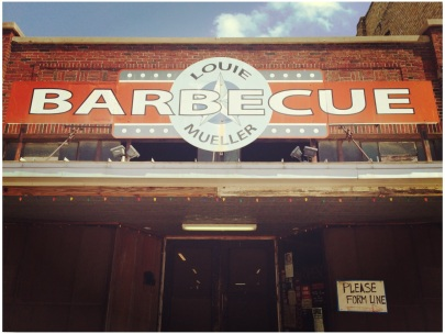 Louie Mueller Barbecue is located at 206 W. 2nd St. in historic downtown Taylor, Texas.